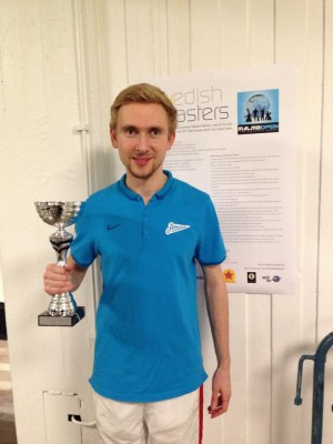 2015 Swedish Masters champion: Yanis Galuzo
